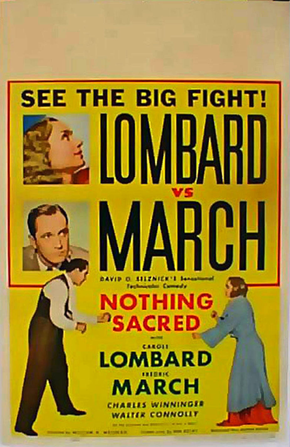 carole lombard nothing sacred poster 02a