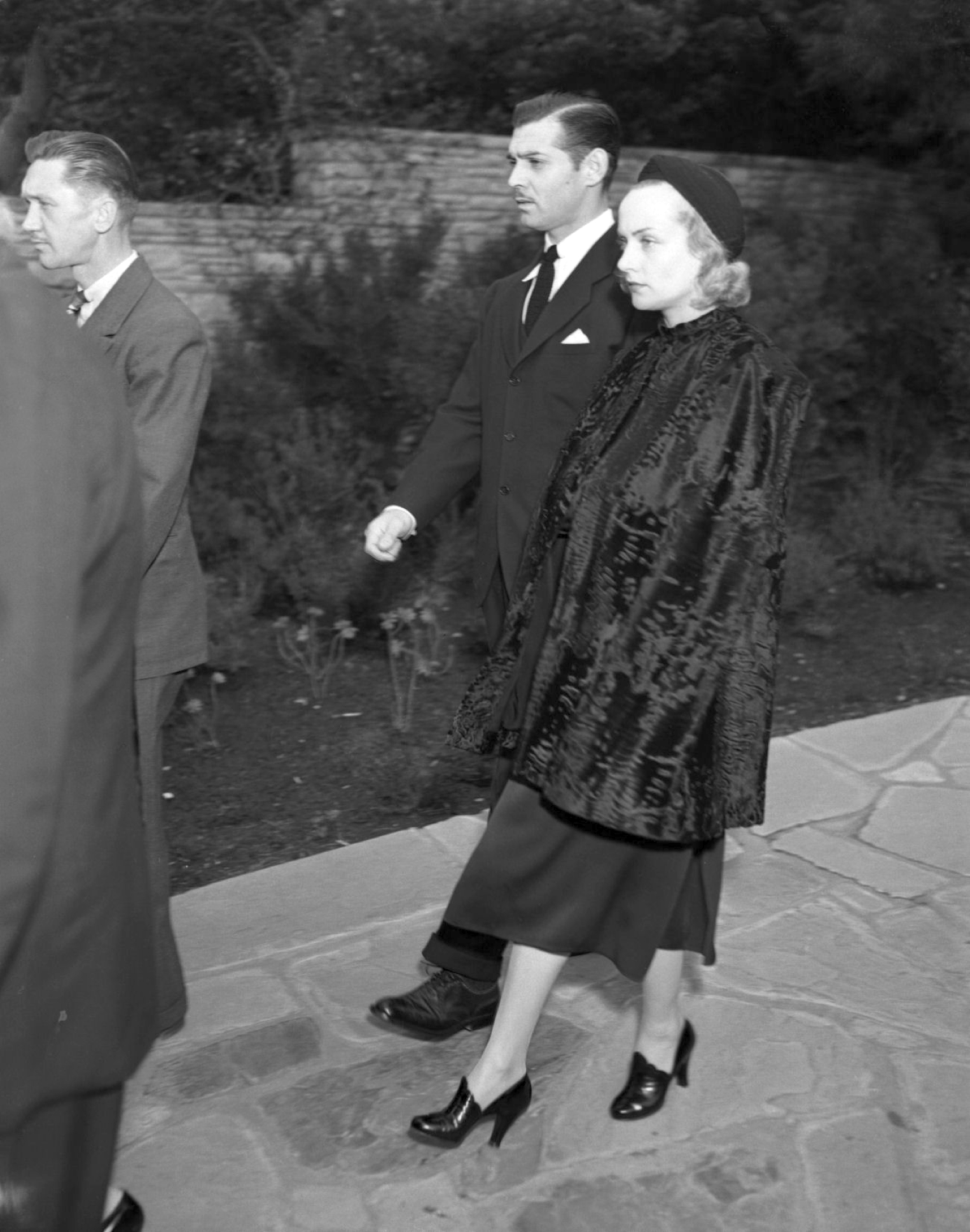 carole lombard clark gable harlow funeral large