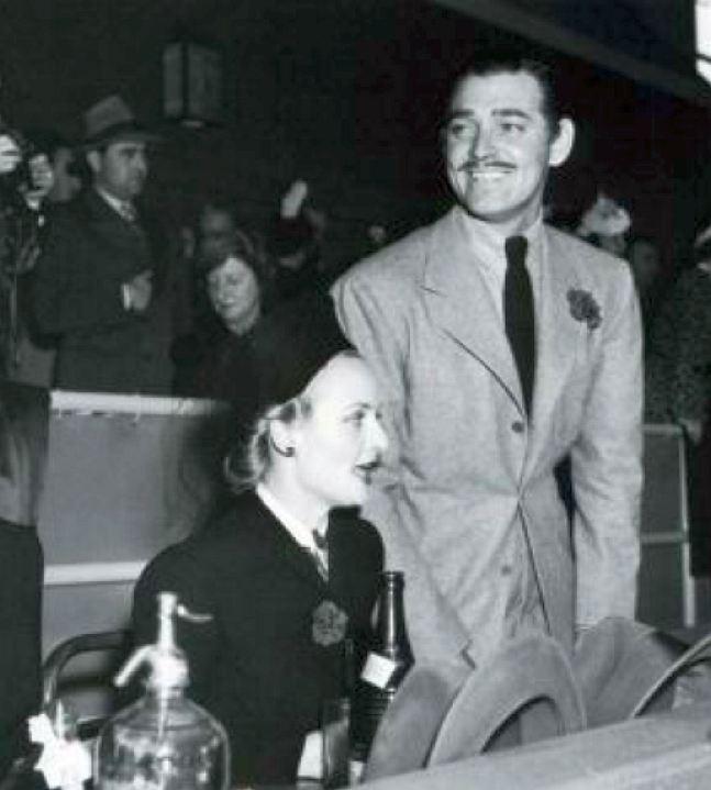 carole lombard clark gable hollywood park 1940a