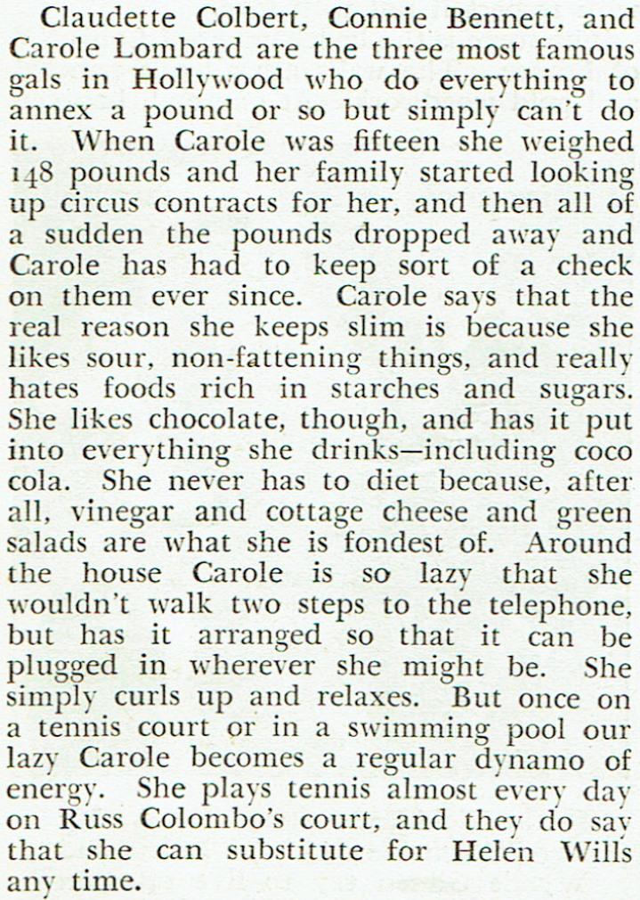 carole lombard silver screen august 1934da