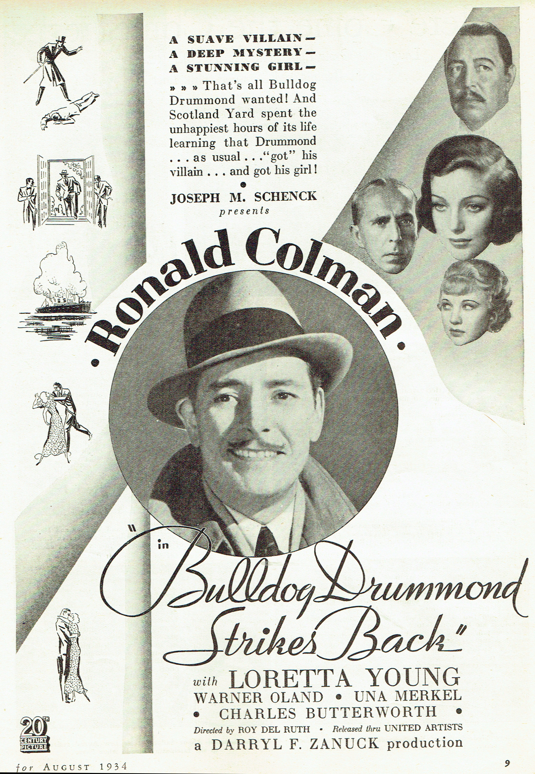 silver screen august 1934m