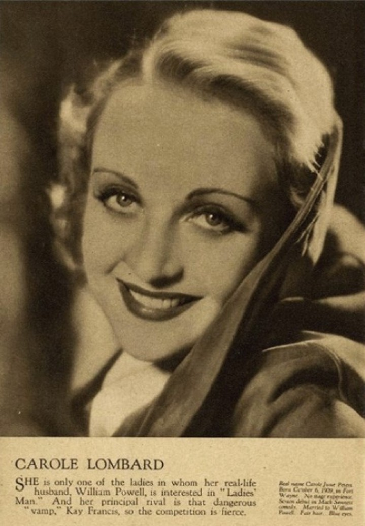 carole lombard film weekly stars of the month june 1932aa