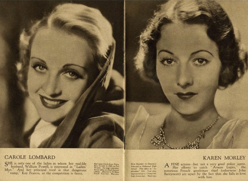 carole lombard film weekly stars of the month june 1932c