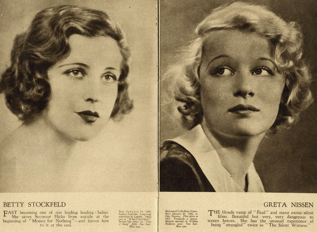 film weekly stars of the month june 1932ca