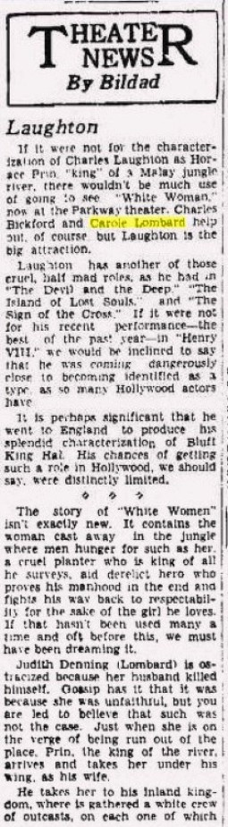 carole lombard 122133aa wisconsin state journal