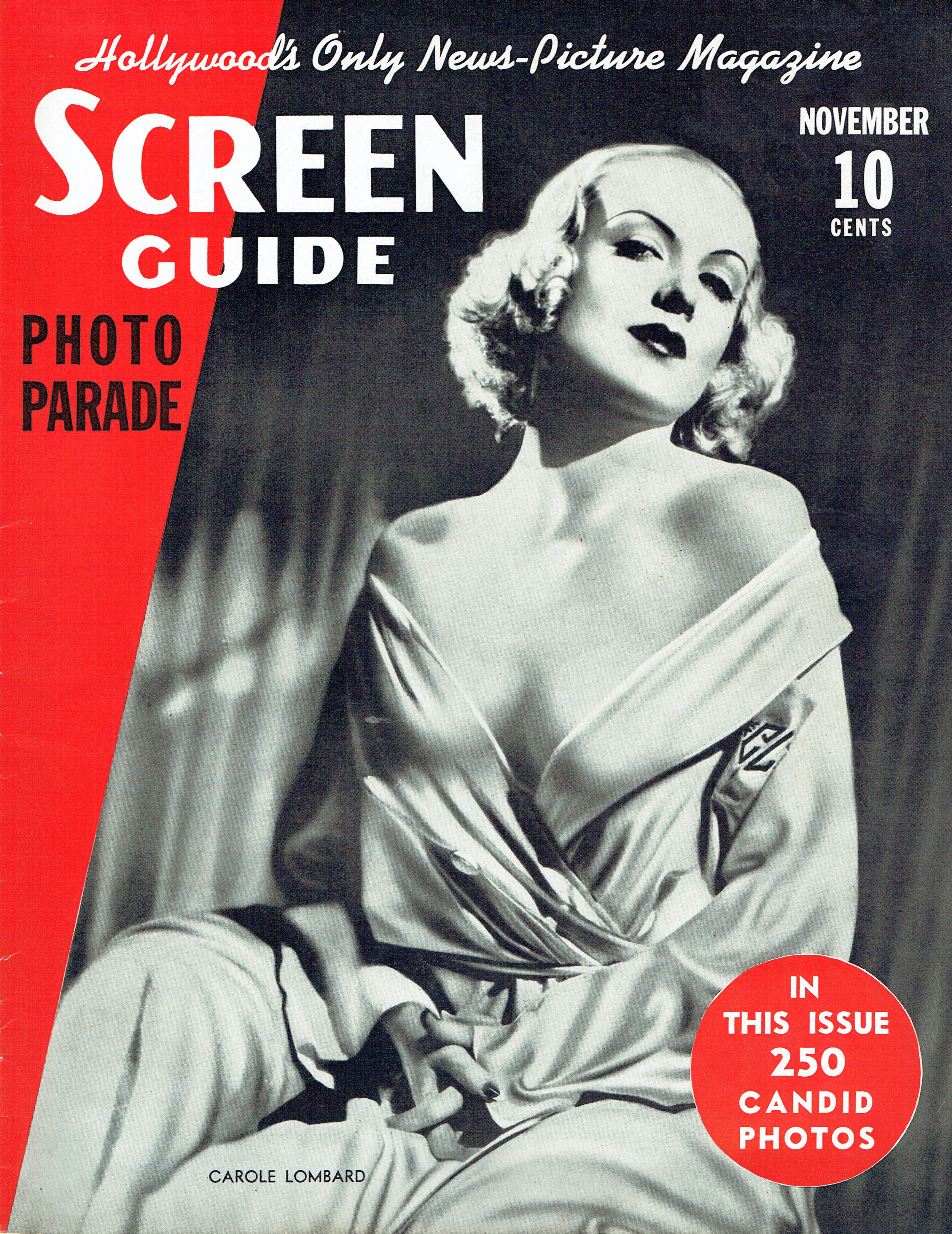 carole lombard screen guide november 1937 cover large