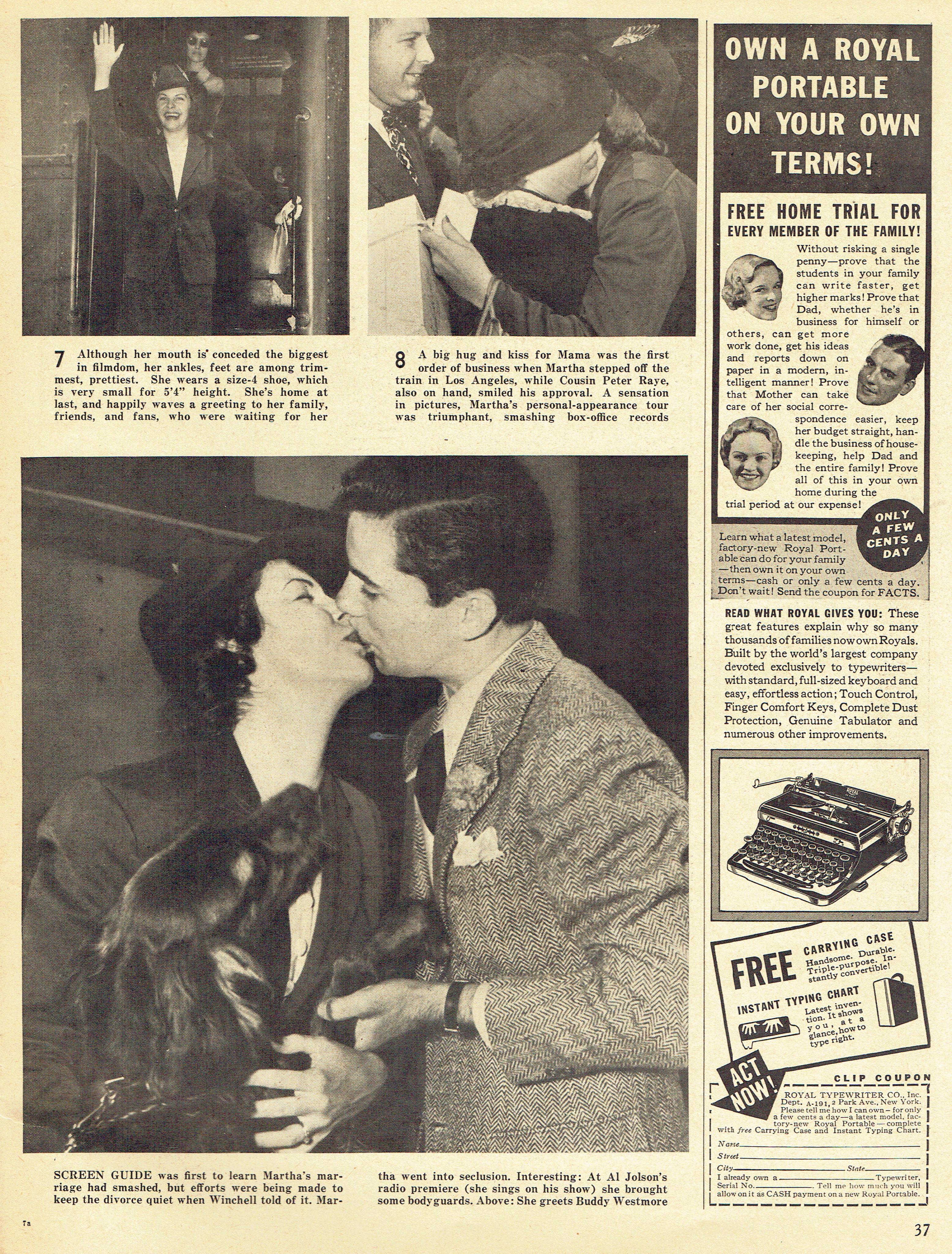 screen guide november 1937h
