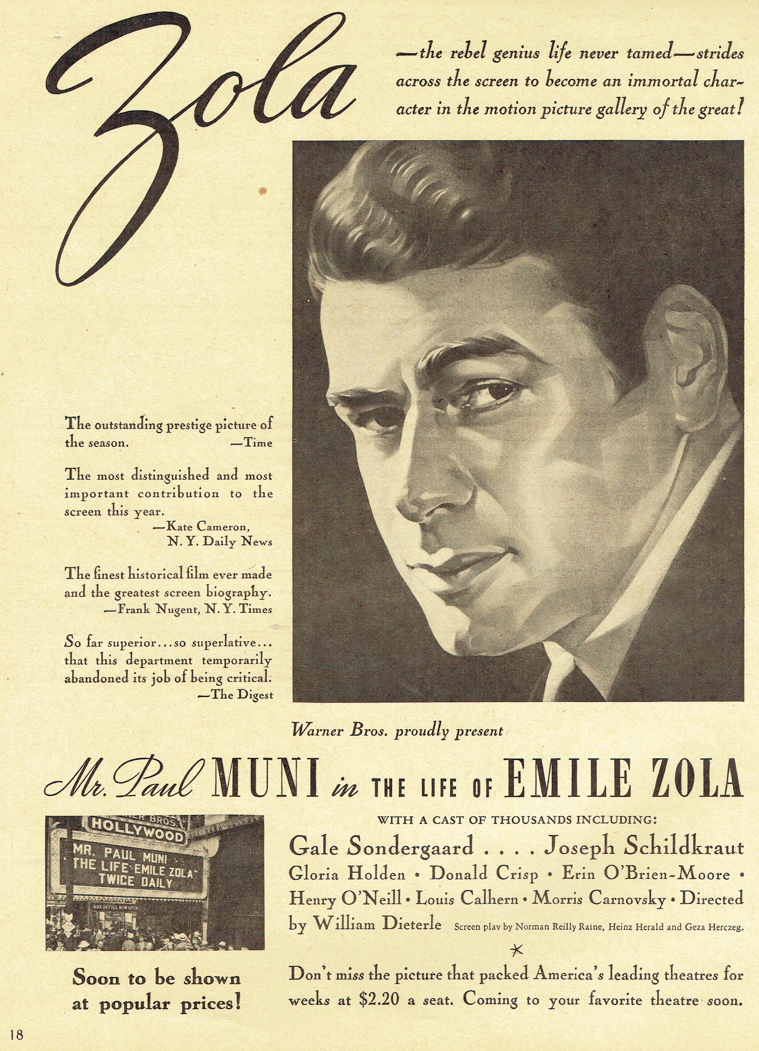screen guide november 1937l