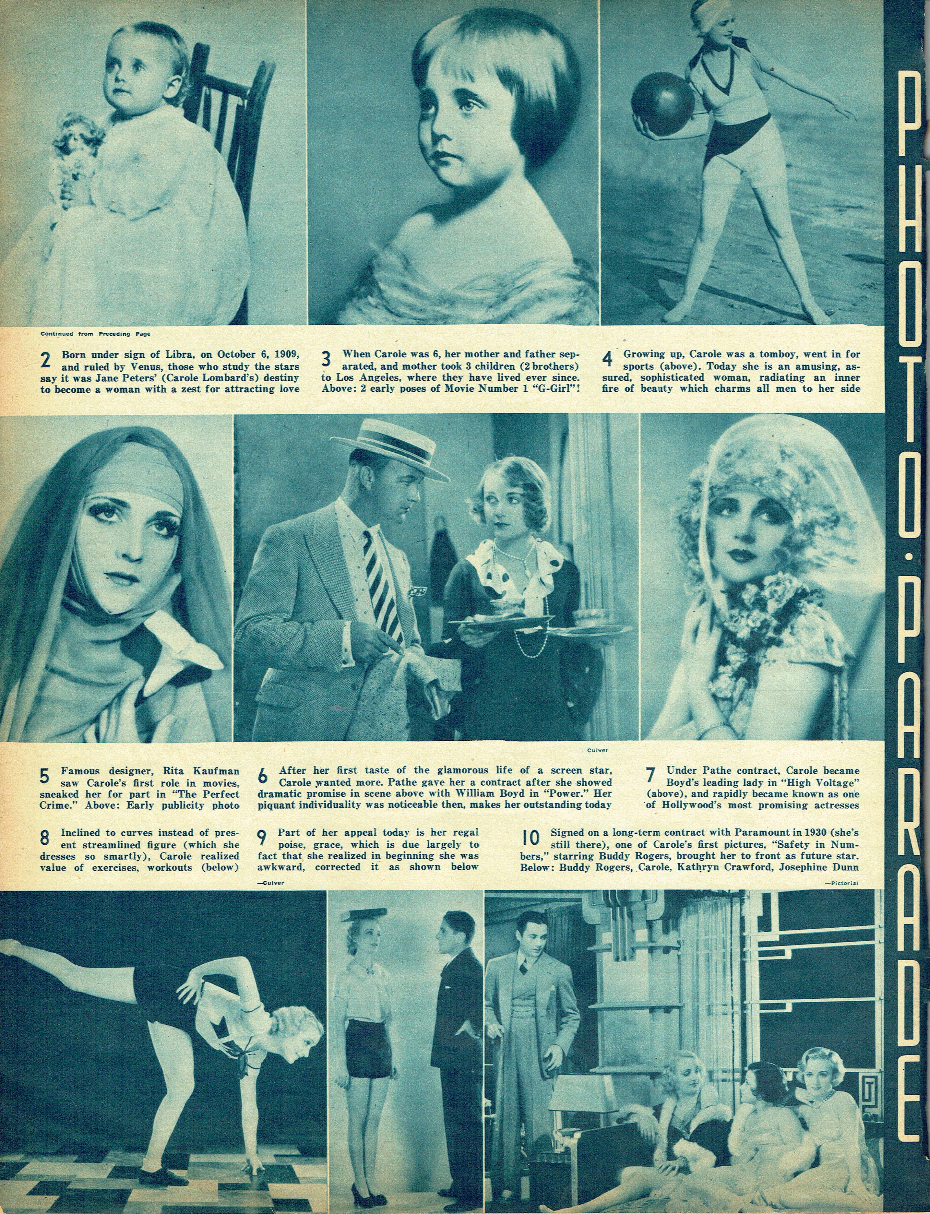 carole lombard screen guide january 1938e