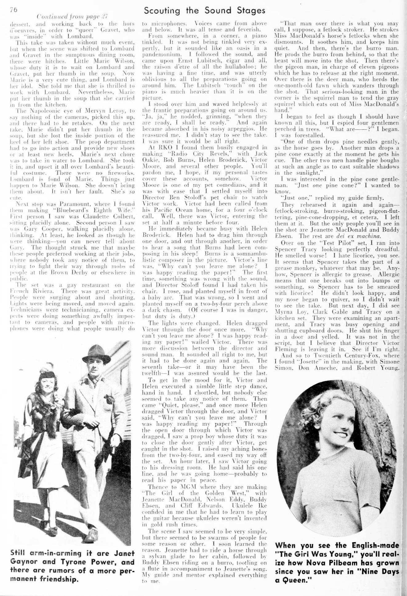 carole lombard picture play april 1938eb