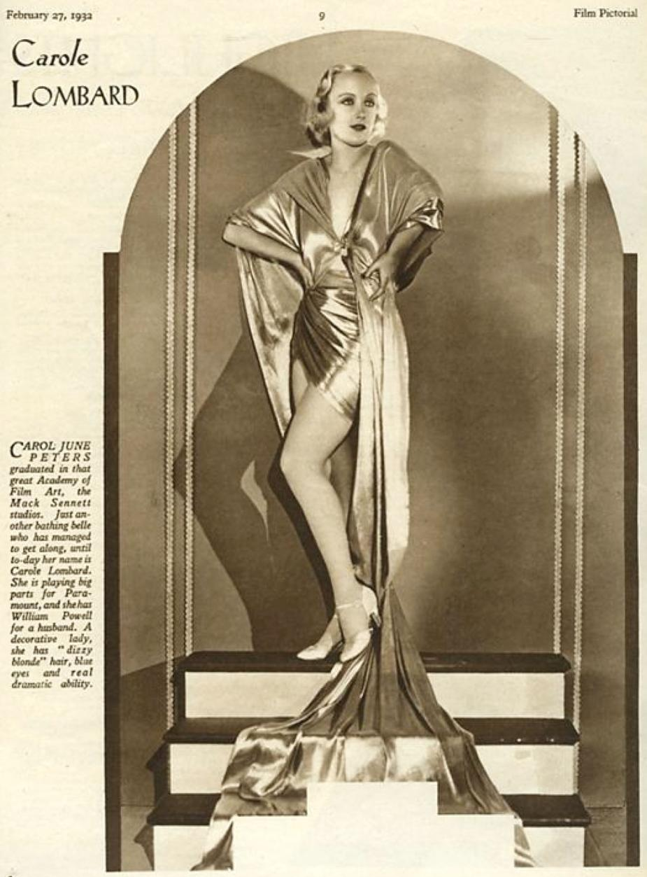 carole lombard film pictorial 022732a uk