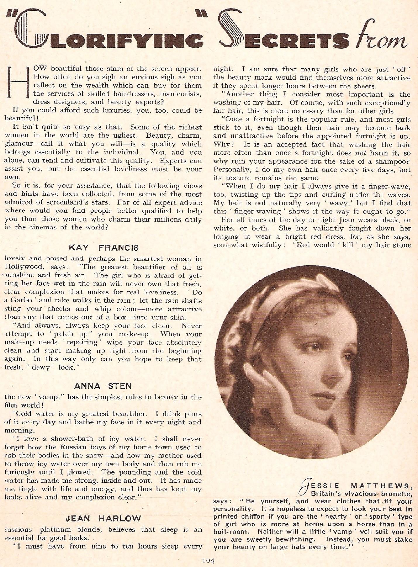 carole lombard film pictorial annual 1935cb
