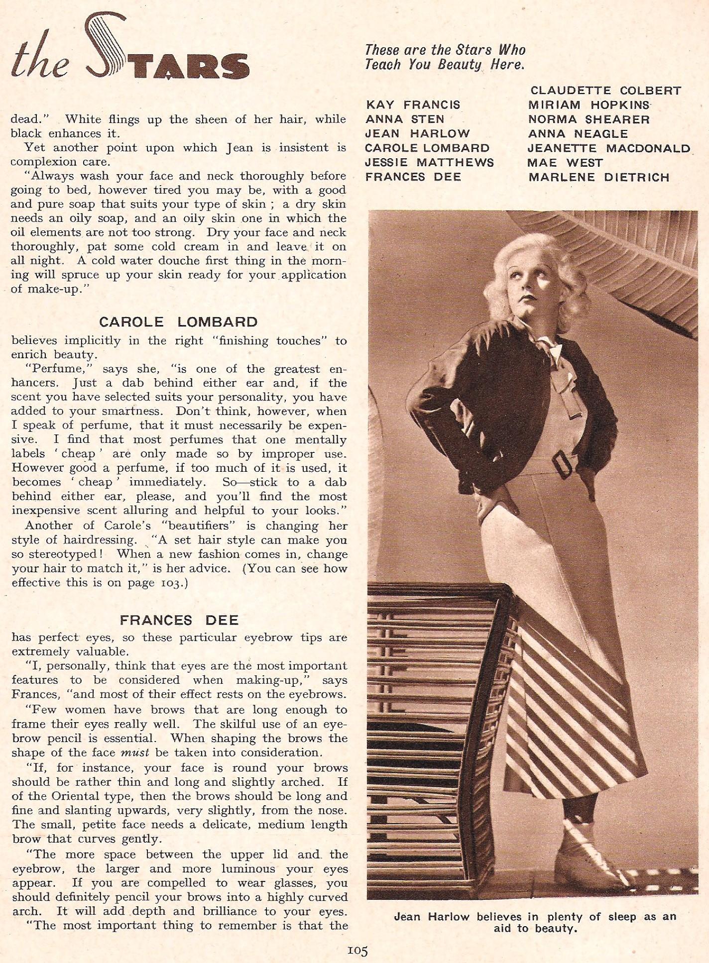 carole lombard film pictorial annual 1935da