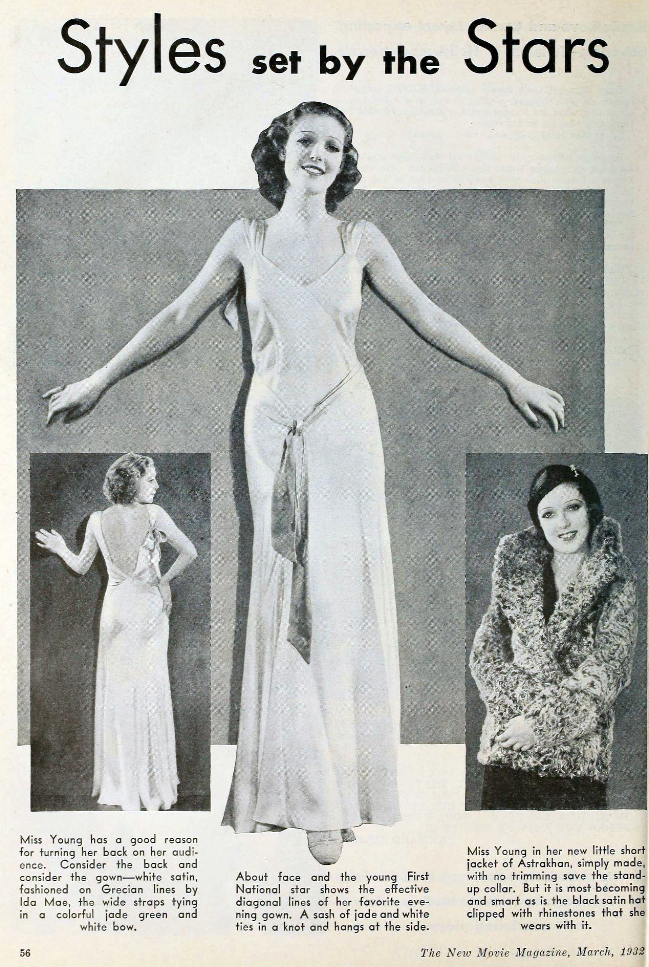 loretta young 00a the new movie magazine march 1932