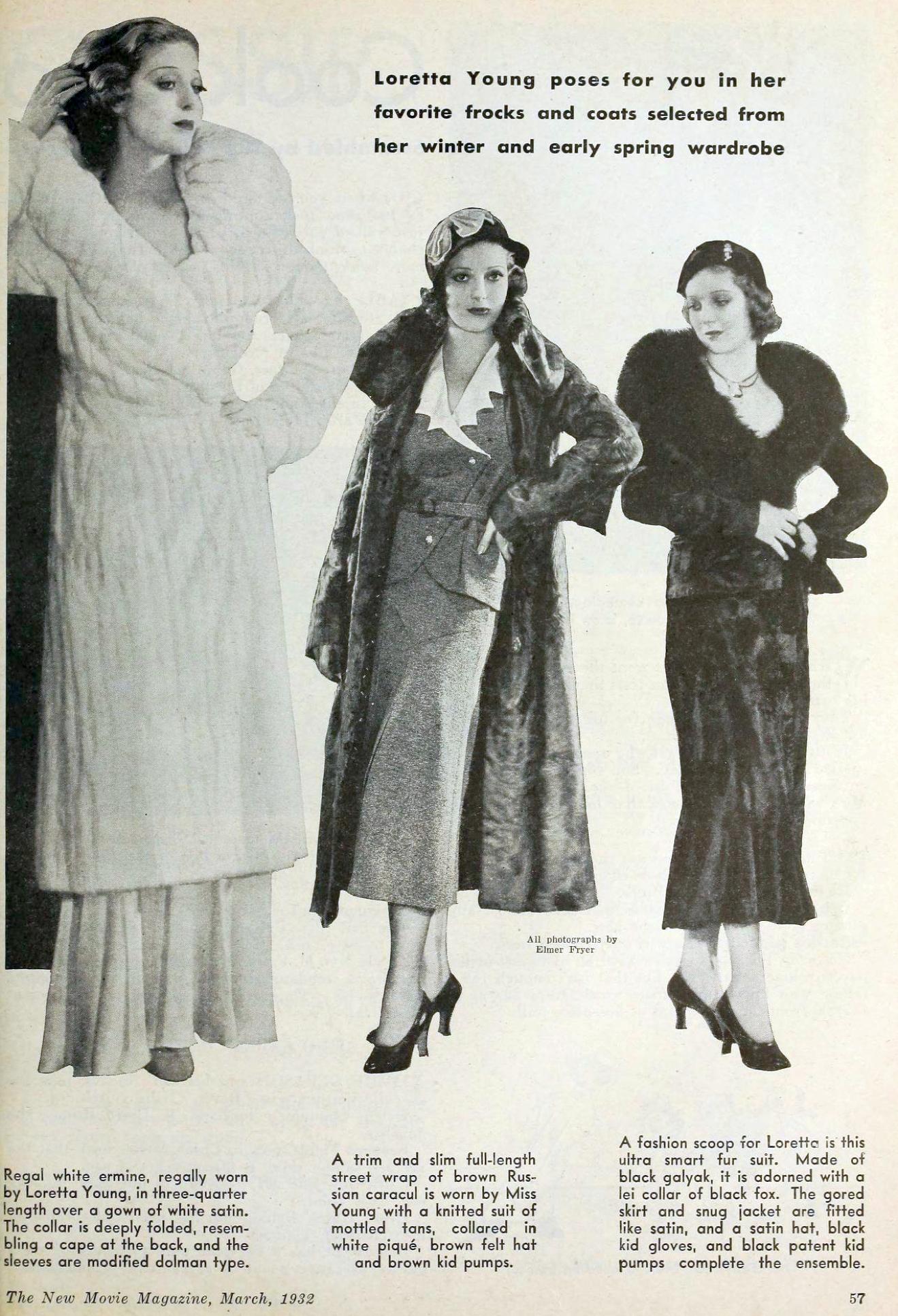 loretta young 01a the new movie magazine march 1932