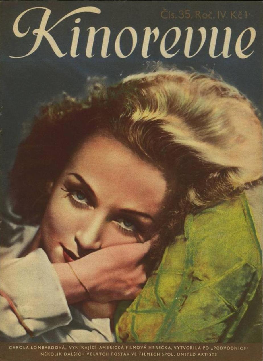 carole lombard kinorevue czech 1938a