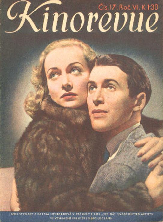 carole lombard kinorevue 1939a czechoslovakia