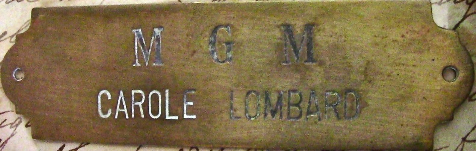 carole lombard clark gable dressing room tags 01a