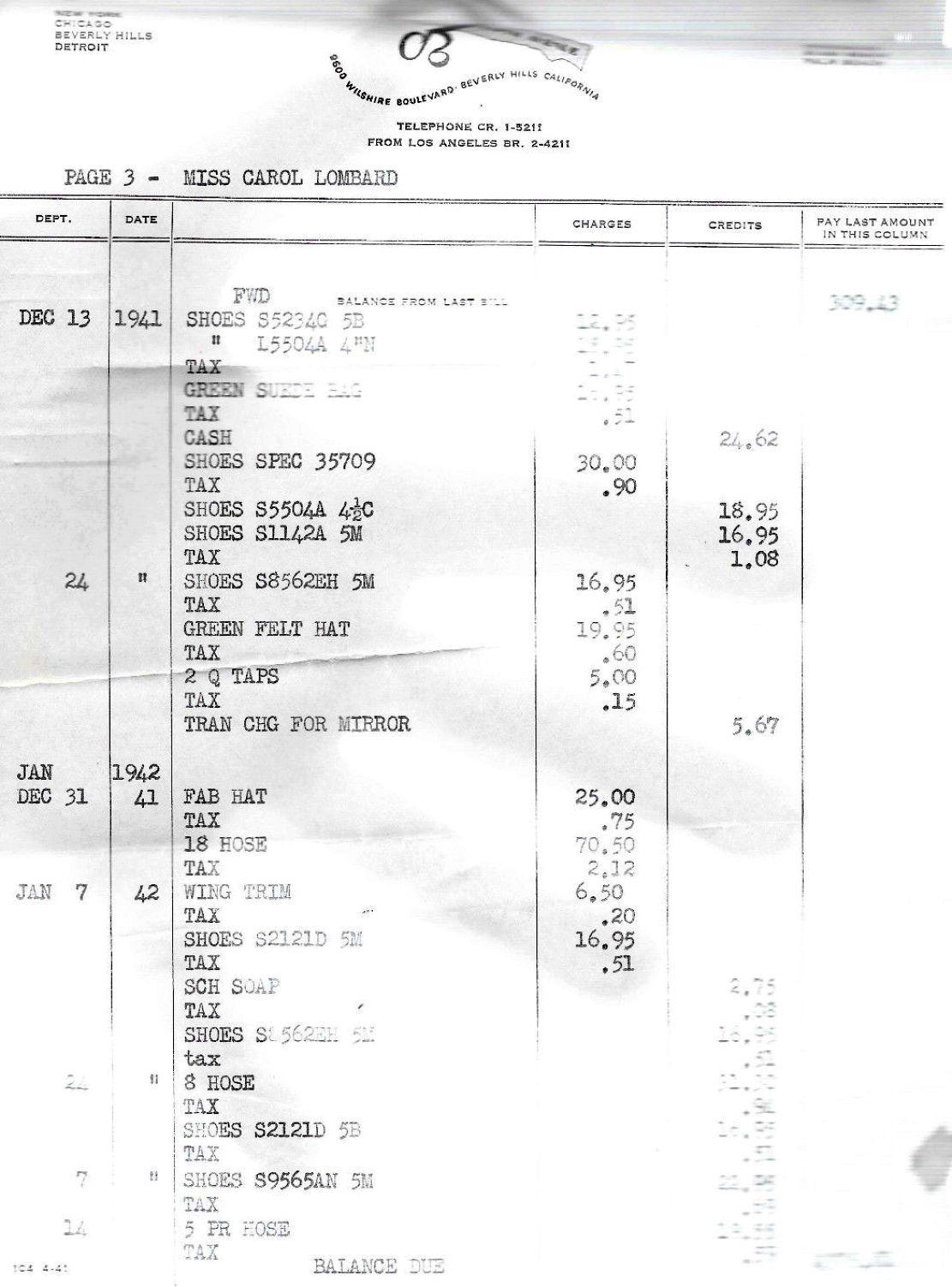 carole lombard clark gable 071542 saks estate 07a