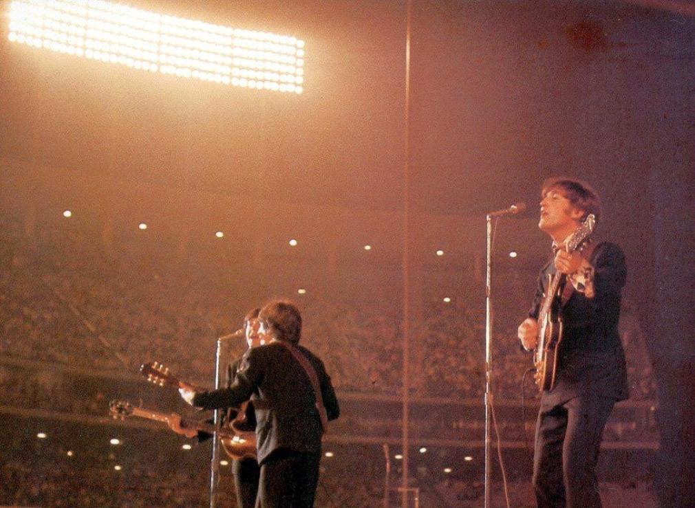 beatles 1966a dodger stadium