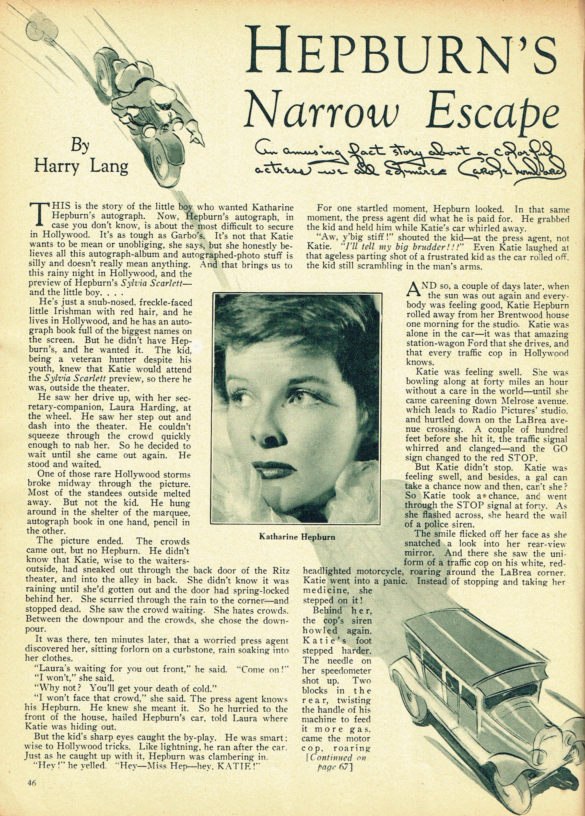 carole lombard screen book april 1936p