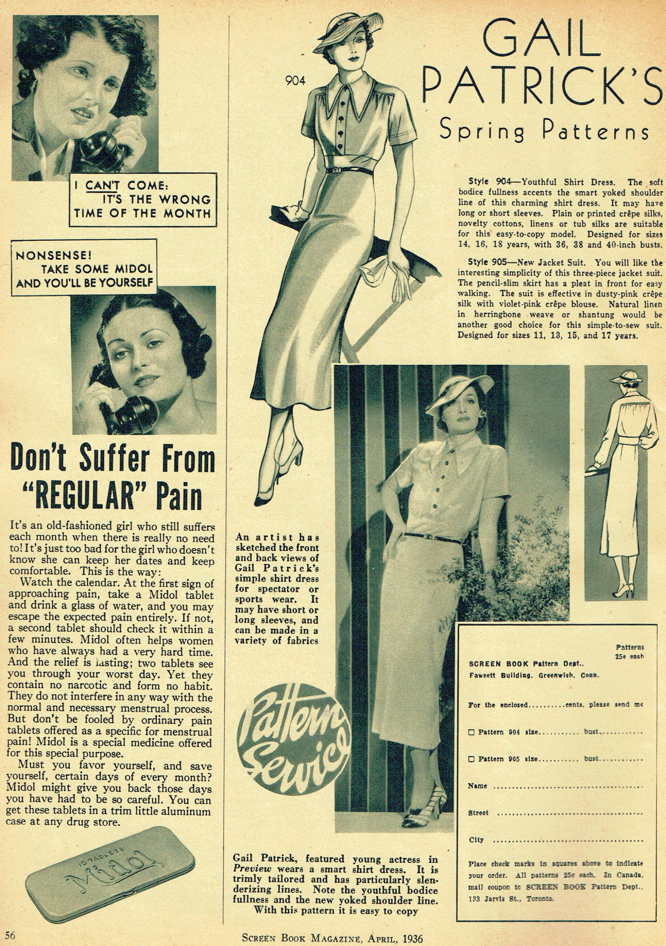 screen book april 1936fa