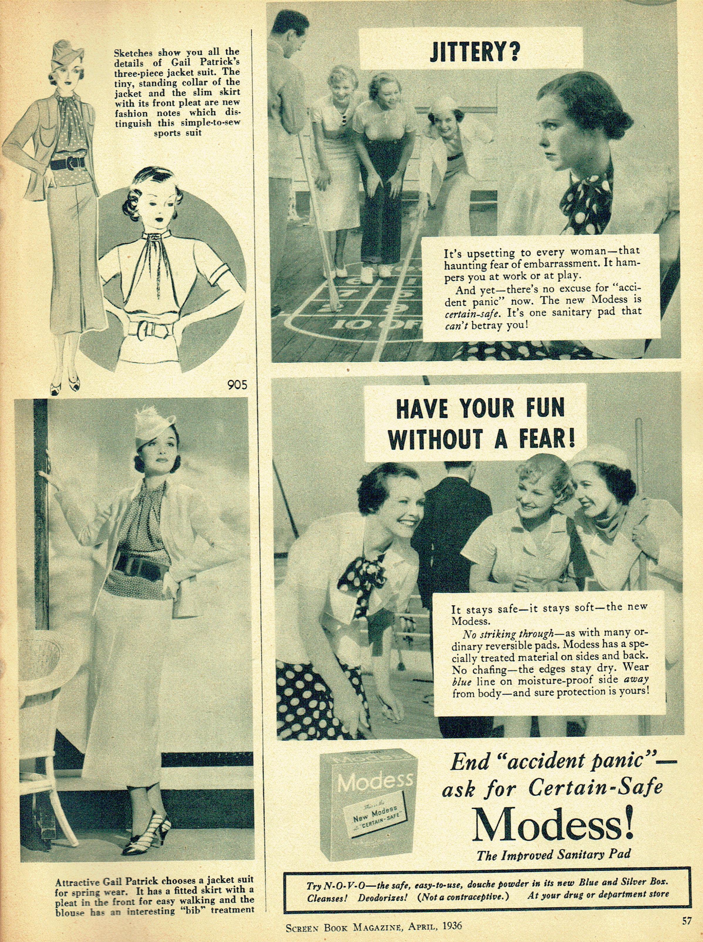screen book april 1936ga