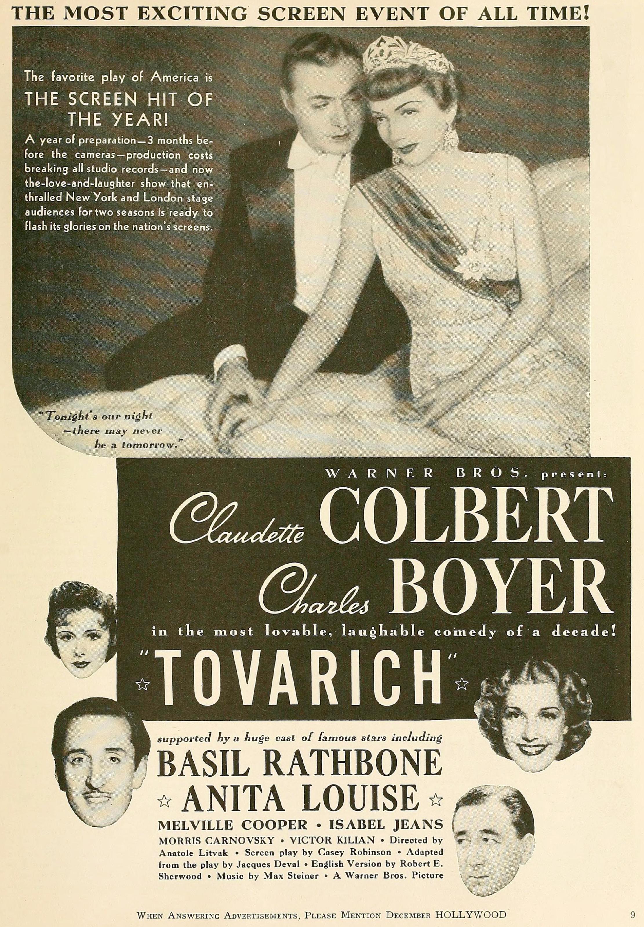 hollywood december 1937ja