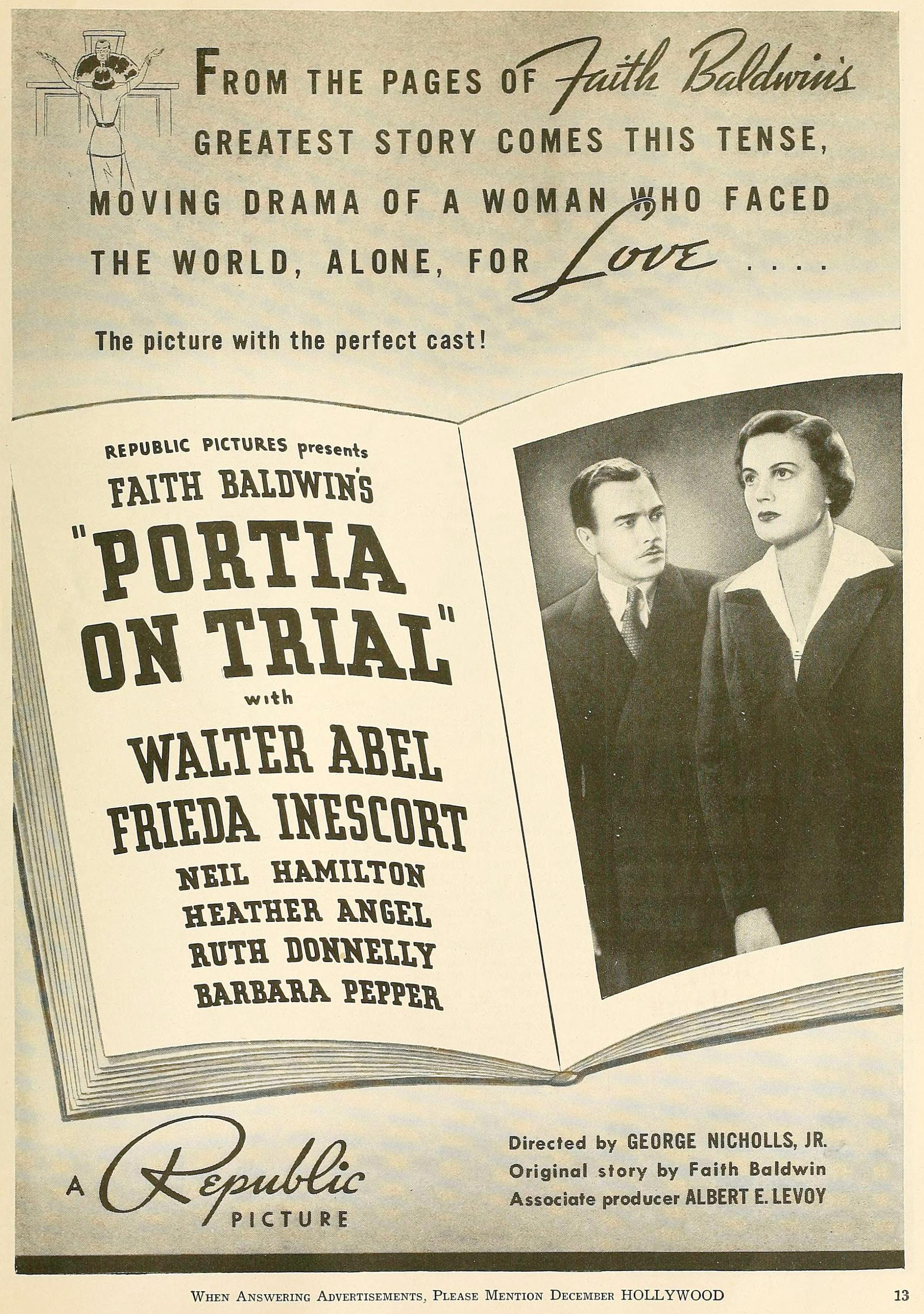 hollywood december 1937la