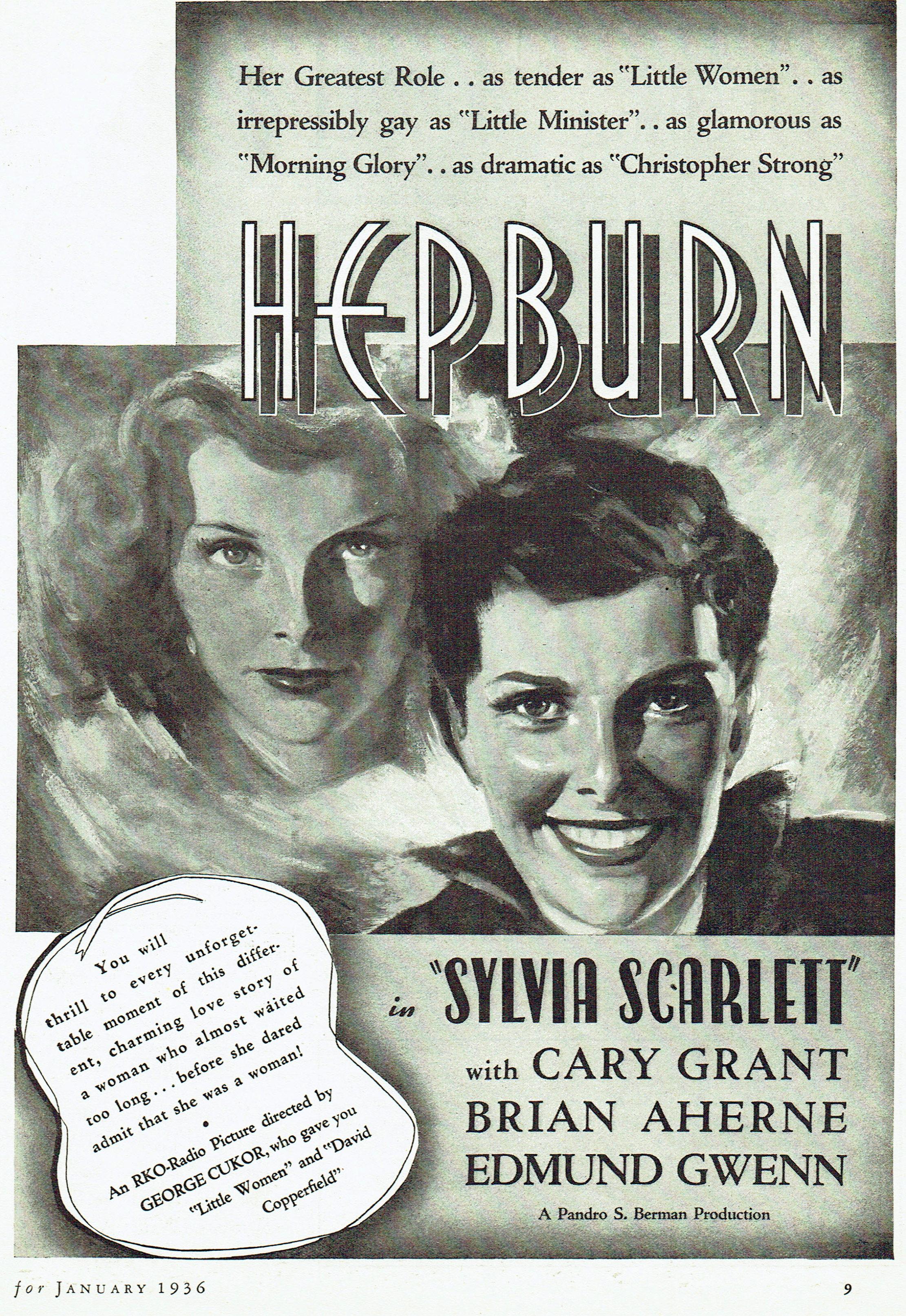 silver screen january 1936i