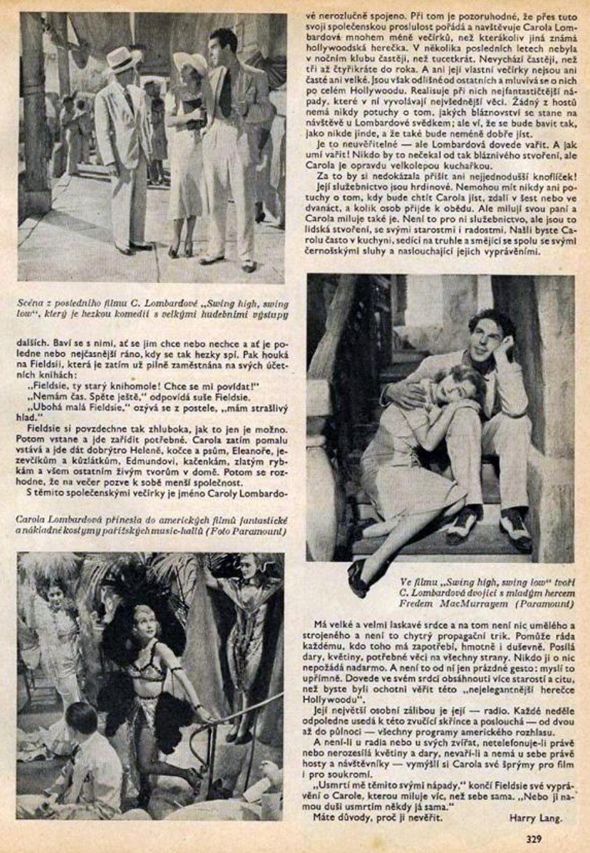 carole lombard kinorevue czech 1937ba