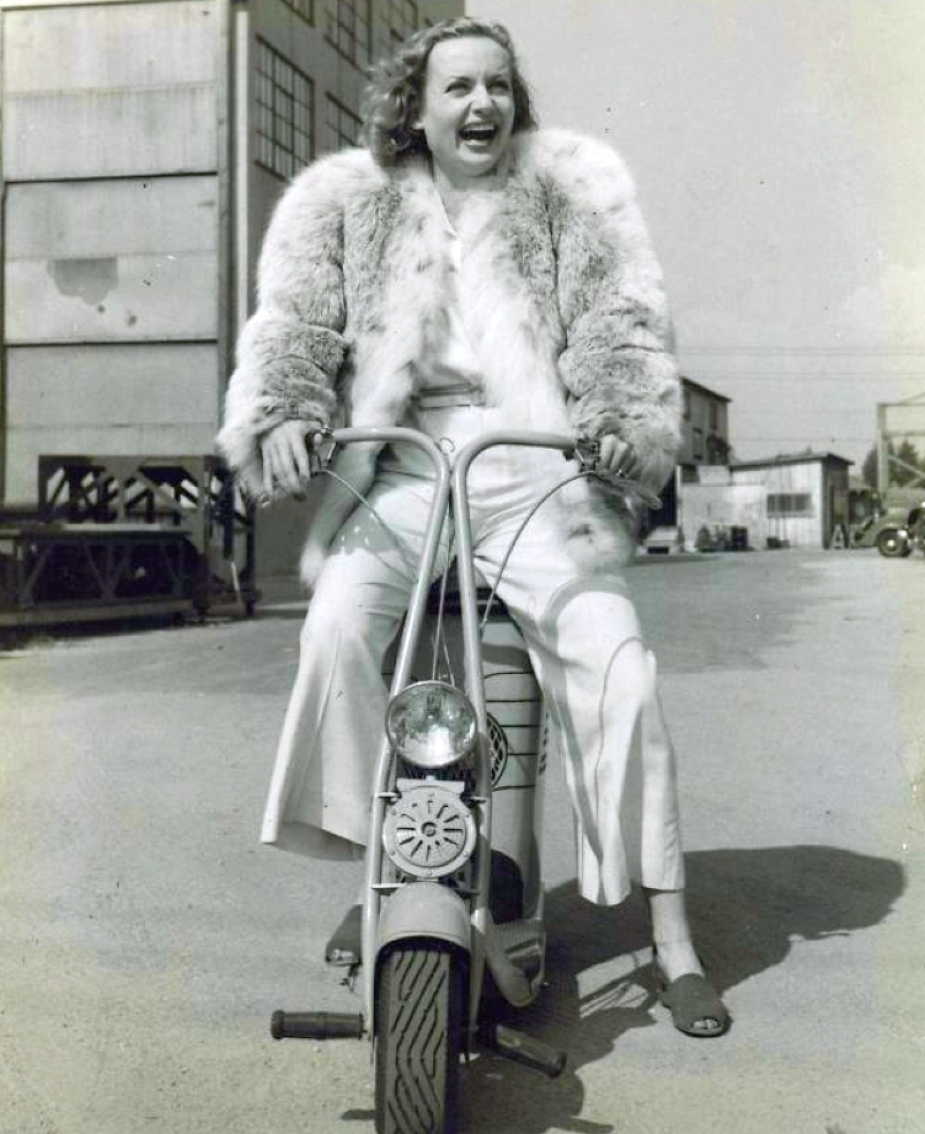 carole lombard scooter 101738a