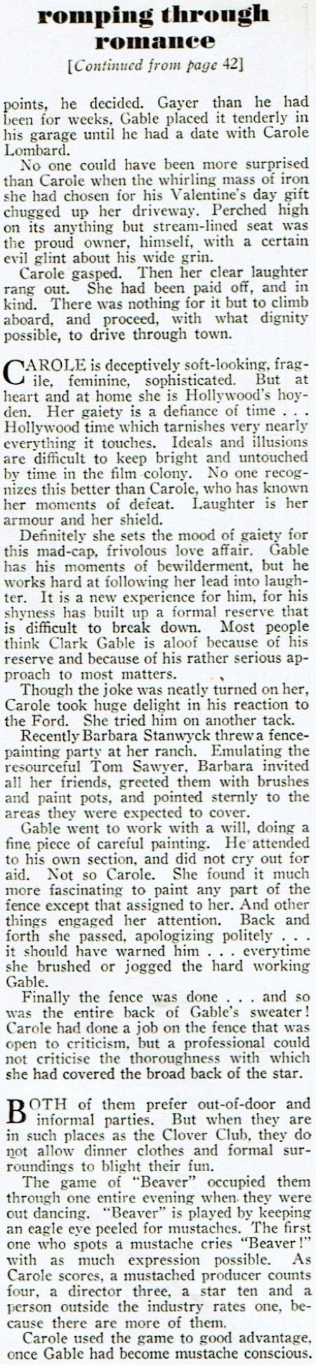 carole lombard screen play march 1937ca