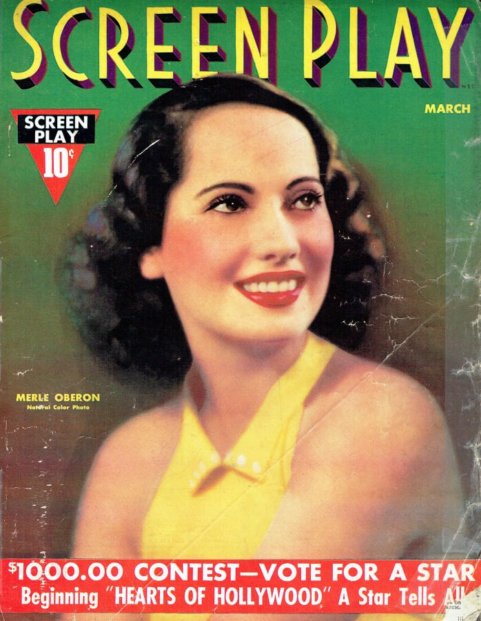 screen play march 1937 cover