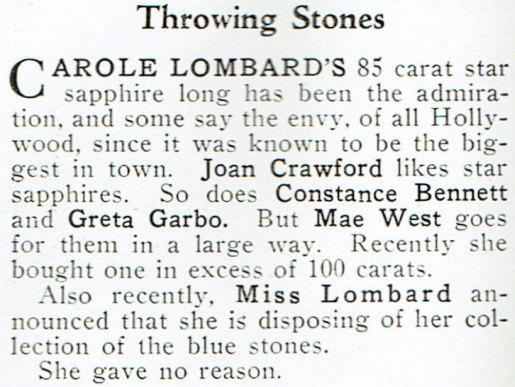 carole lombard screen play march 1937ea