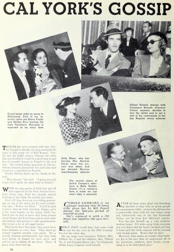 carole lombard photoplay december 1935ba