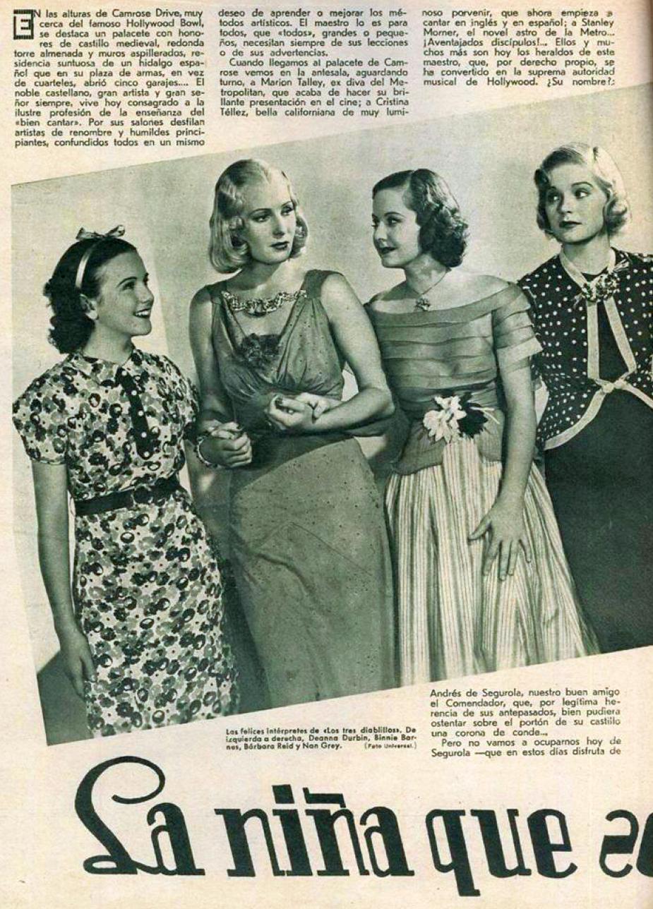 films selectos 1937ba