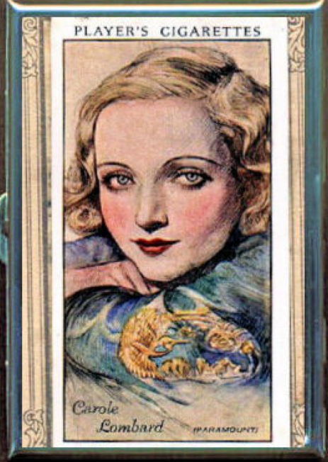 carole lombard case cigarette card 00a