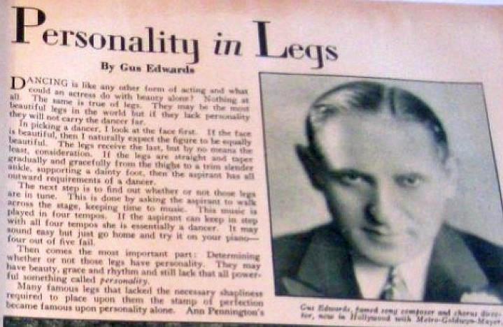 carole lombard screen art november 1929cd