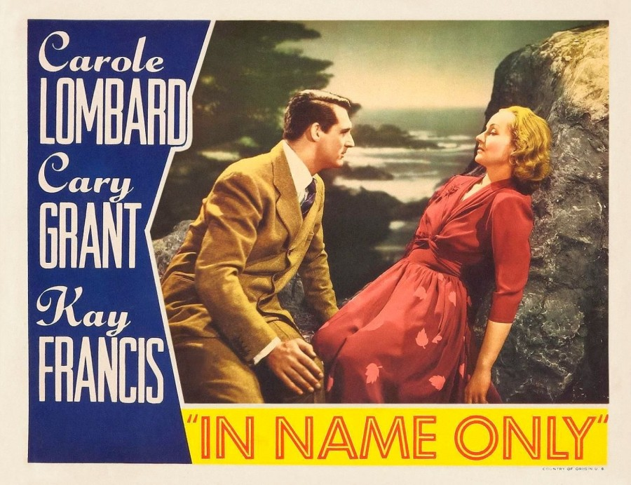 carole lombard in name only lobby card 03b