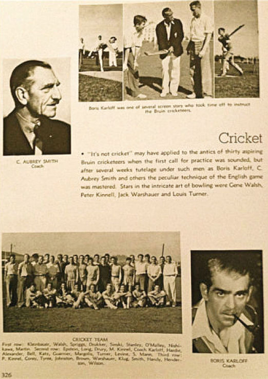 1934 ucla yearbook c. aubrey smith boris karloff 00a