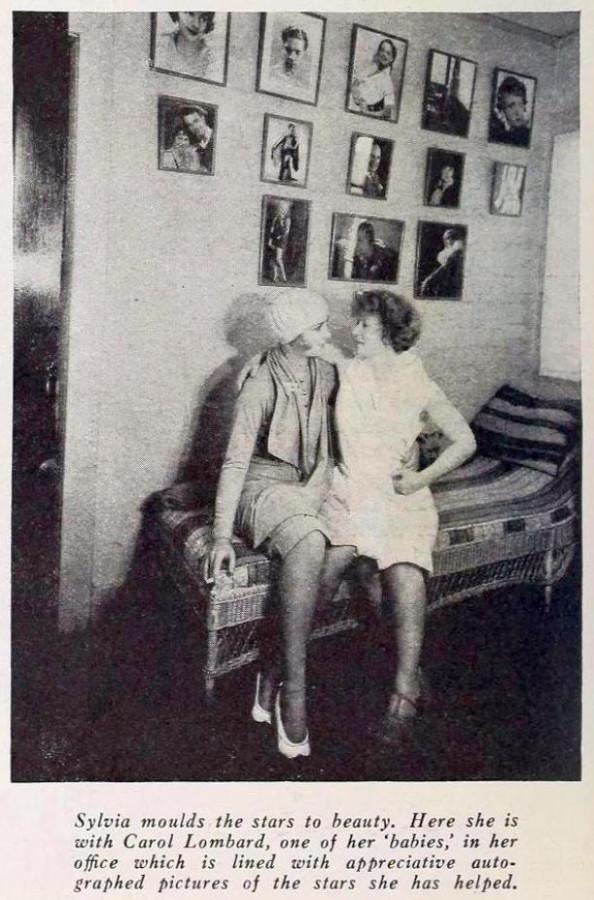 carole lombard screenland january 1930bb