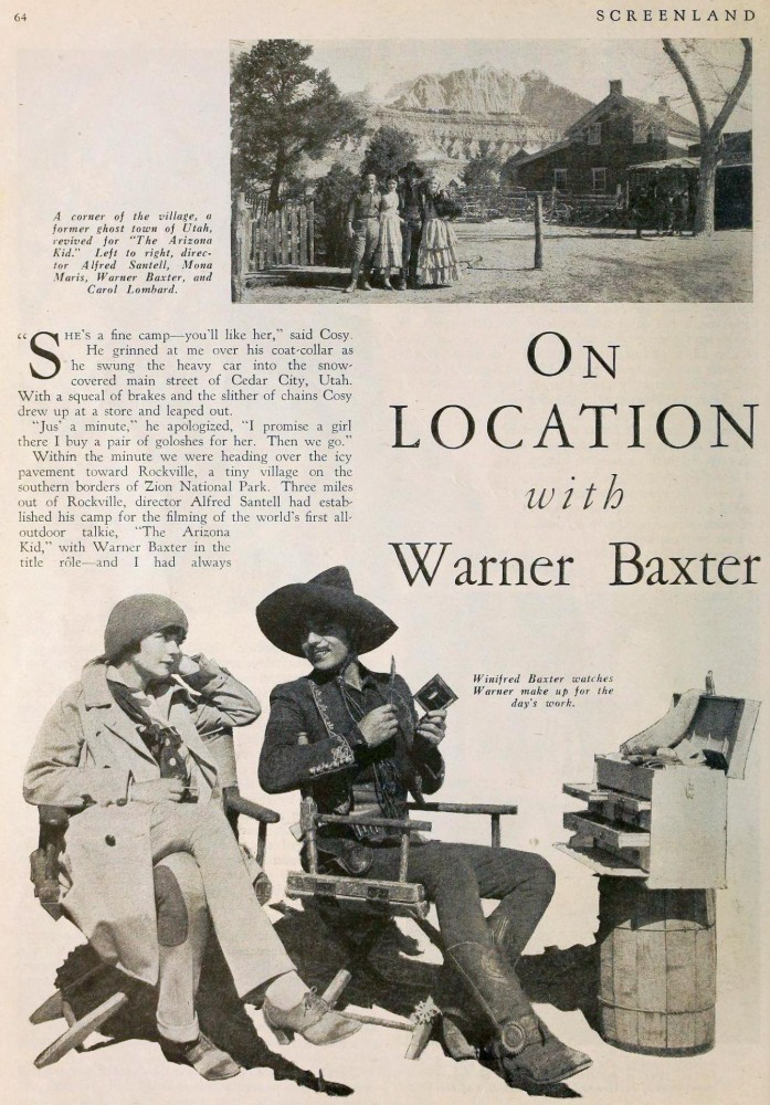carole lombard screenland july 1930aa