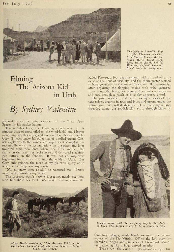 carole lombard screenland july 1930ba