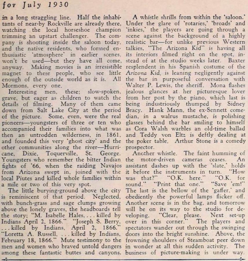 carole lombard screenland july 1930da