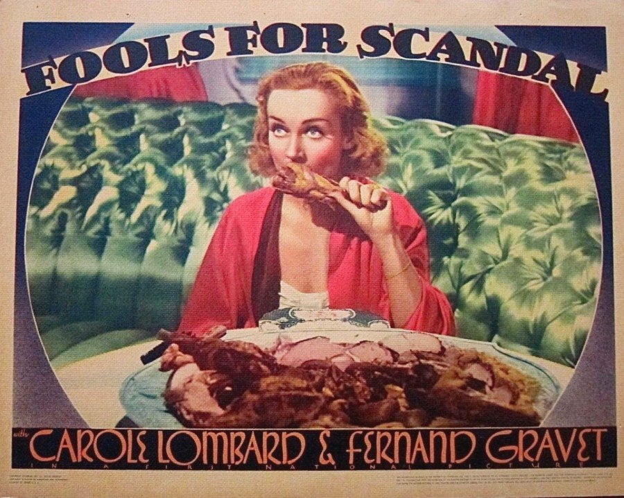carole lombard fools for scandal lobby card 06a