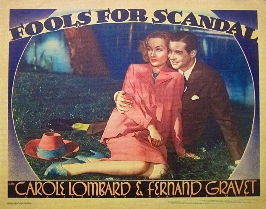 carole lombard fools for scandal lobby card 04a