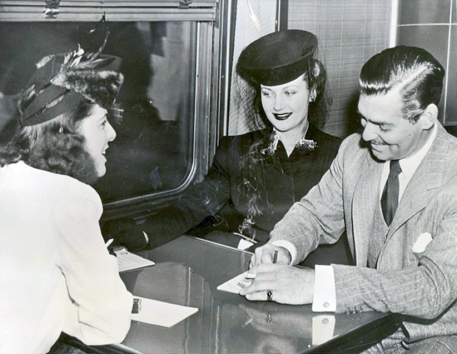 carole lombard clark gable train 00c