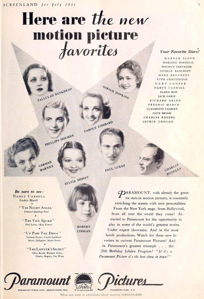 carole lombard screenland july 1931aa