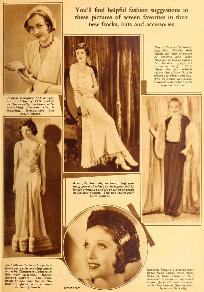 carole lombard screenland may 1931ba